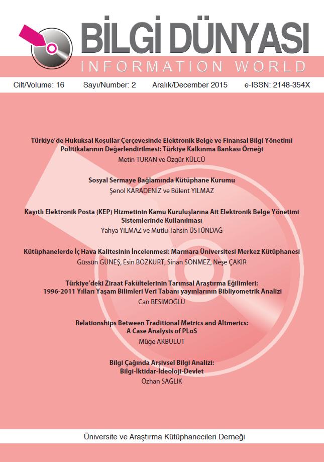 Cilt 16 Sayı 2 (2015)